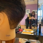 Herren Haarschnitt.