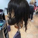 Herren Haarschnitt. Haare