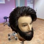 Männer Haarschnitt mit Bartpflege.